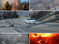 Southern California Edison Reported Circuit Malfunction Minutes Before Woolsey Fire Began