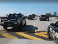WATCH: Mexican Police Escort 400 from Migrant Caravan to U.S. Border