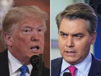 "President Donald Trump ripped CNN's Jim Acosta for being ""very unprofessional"" Friday, saying that the way he treats Sarah Sanders is a ""disgrace."""