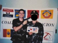 A photo emerged showing Democrat Congressional candidate George Scott (PA-10) pointing a gun at an American soldier in what was allegedly supposed to be a prank about handling captives.