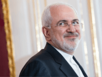 Mohammad Javad Zarif, Iran's foreign secretary (pictured) during an joint press statement of Austrian President Alexander van der Bellen (not pictured) and Iranian President Hassan Rouhani (not pictured) at Hofburg Palace on July 4, 2018 in Vienna, Austria. Rouhani is on a one-day visit to Austria, during which he is …
