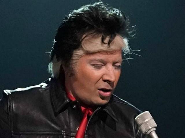 Jimmy Fallon Mocks Trump with Mueller-Themed Rendition of Elvis Presley's 'Jailhouse Rock'