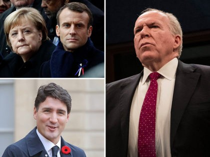 John Brennan: Trudeau, Macron, and Merkel 'Principled Leaders' Doing What's Right