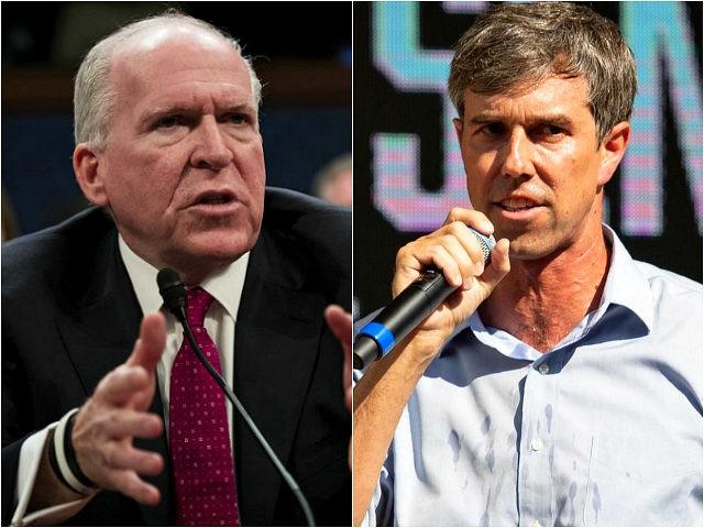 John Brennan and Beto O'Rourke