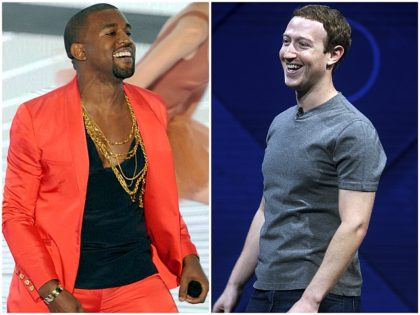 Kanye West Sings Karaoke with Facebook's Mark Zuckerberg