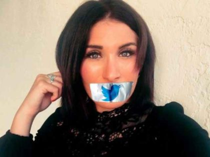 Laura Loomer protests Twitter
