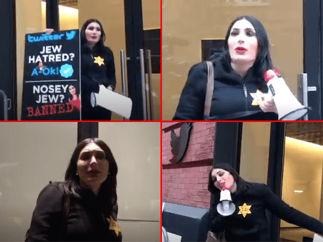 Laura Loomer Twitter protest