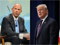 Michael Avenatti and Donald Trump