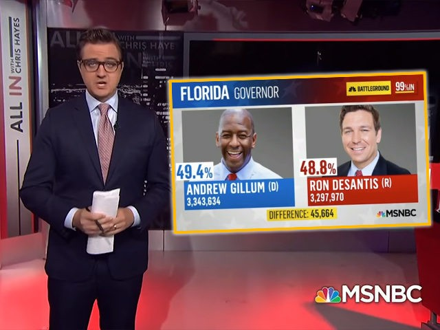 Gillum now says recount possible in Florida's governor race