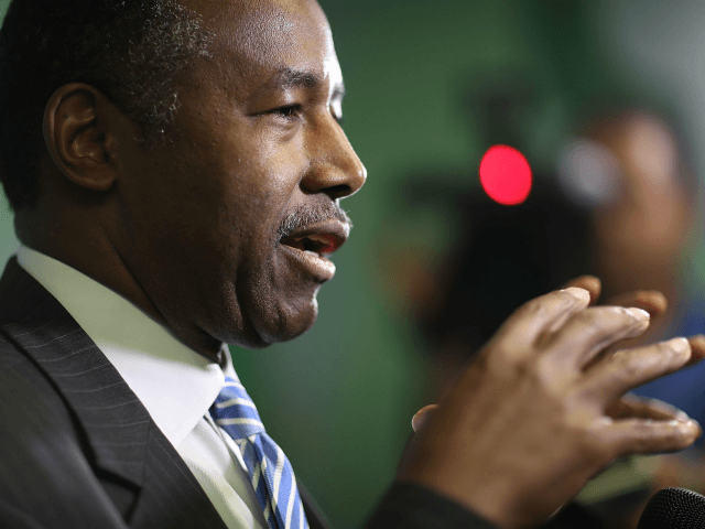 Housing and Urban Development Secretary Ben Carson joined Breitbart News …