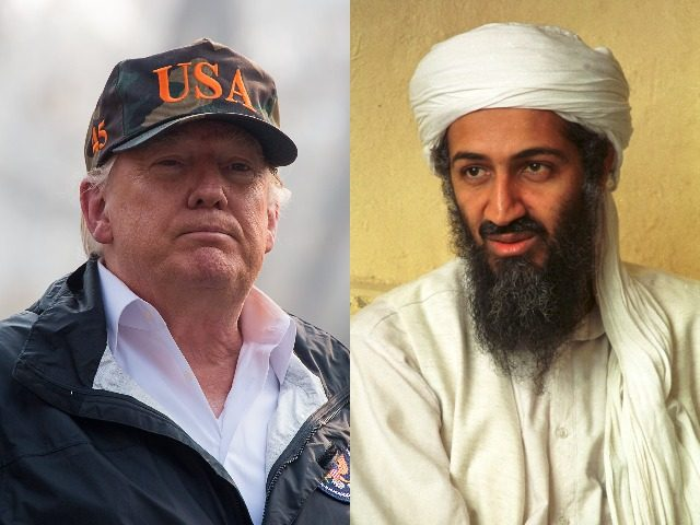 President Donald Trump defended his statement that the United States should have captured Osama Bin Laden earlier.