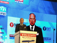 Ron Lauder, the president of the World Jewish Congress, addresses the audiance during the Ynet and Yedioth Ahronoth's anti-BDS conference in Jerusalem on March 28, 2016. Israel has been the target of a global boycott campaign aimed at ending its occupation, known as BDS (Boycott, Divestment and Sanctions). / AFP …