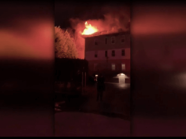 WORCESTER (WHDH) - A group of Junior Reserve Officers' Training Corps members ran into a burning building in Worcester to help residents out earlier this week.