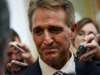 Jeff Flake: Republicans 'Should Hold the Same Position' as in 2016 on SCOTUS Vacancy