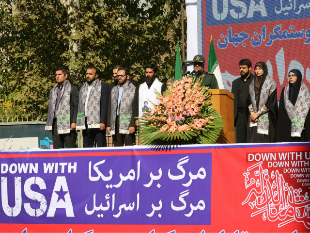 Iranians Condemn US Arrogant Policies in Nationwide Rallies