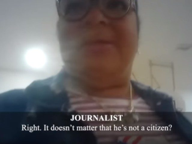 "James O'Keefe's Project Veritas released undercover video Tuesday of a Texas poll worker admitting  that ""tons"" of non-citizens are being allowed to vote."
