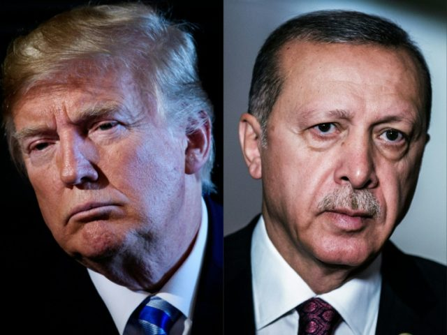Trump, Erdogan talk Syria in phone call