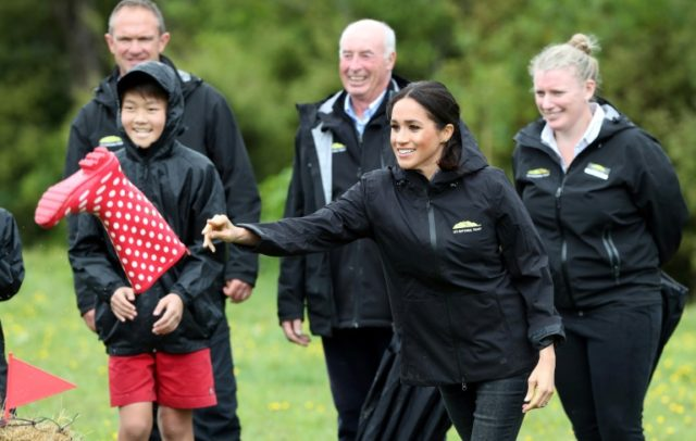 Wellies ahoy as New Zealand quake leaves Harry and Meghan unshaken