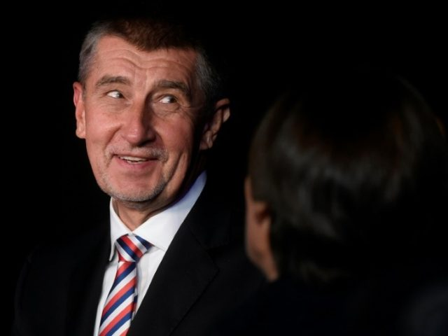 "Czech Prime Minister Andrej Babis, pictured October 2018, says the UN migration pact is ""not clearly interpreted and it could be abused"""