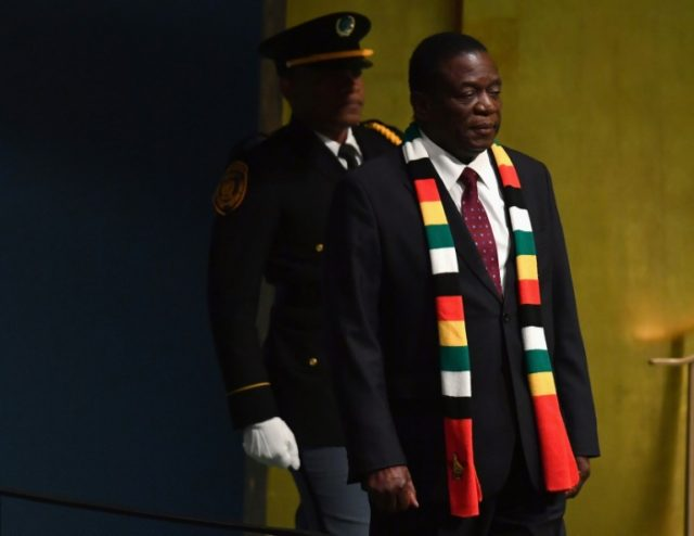 Zimbabwe president says study points to oil in country