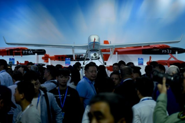 China steps up drone race with stealth aircraft