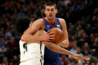 Denver Nuggets Nikola Jokic busted out of a slump against Brooklyn but he failed to get the win as the Nets came out on top 112-110
