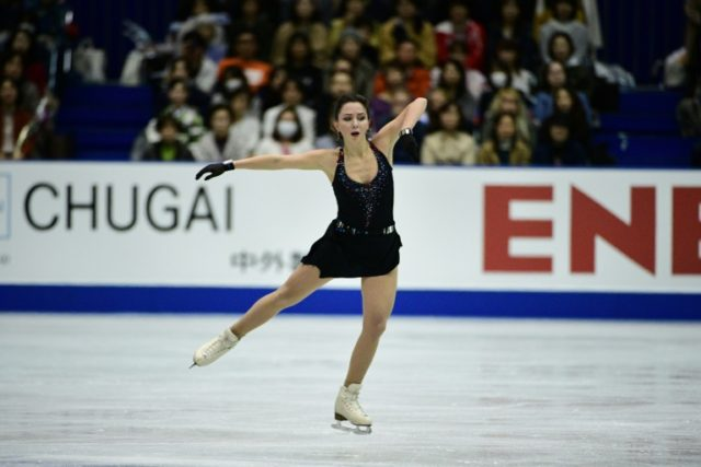 Russian 'Empress' Tuktamysheva draws first blood at Japan skate