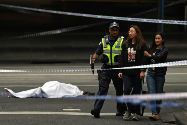 One dead, two hurt in Melbourne 'terror' attack