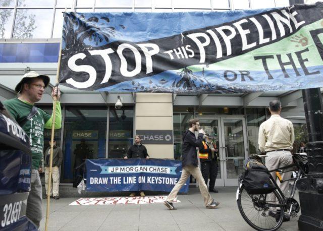 Trump calls court block on Keystone oil pipeline 'a disgrace'