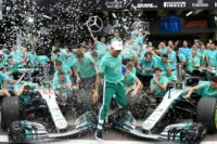 Mercedes' championship 'best moment' says Lewis Hamilton
