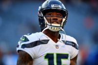 NFL veteran receiver Brandon Marshall, shown with Seattle in September, signed Monday with the New Orleans Saints