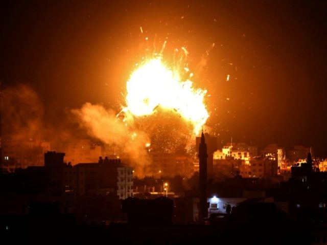 The flare-up came after a deadly Israeli special forces operation in the Gaza Strip on Sunday that led Hamas to vow revenge