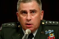 Trump Picks Retired General John Abizaid for Ambassador to Saudi Arabia
