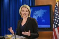 """Recent reports indicating that the US government has made a final conclusion are inaccurate,"" State Department spokeswoman Heather Nauert said in a statement"
