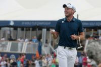 'This is pretty good,' said Danny Willett after ending the third round of the DP World Tour Championship tied for the lead