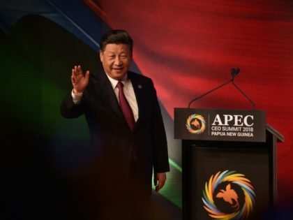 Chinese President Xi Jinping said erecting trade barriers was short-sighted and doomed to failure