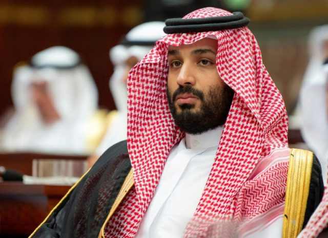 Saudi crown prince arrives in Cairo on regional tour