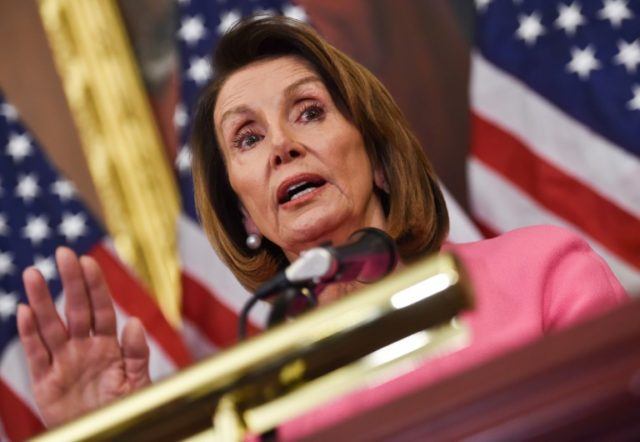 US House Minority leader Nancy Pelosi overcame a robust resistance movement within her party before being re-elected to lead congressional Democrats