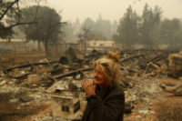 Deadly fire leveled a California town in less than a day