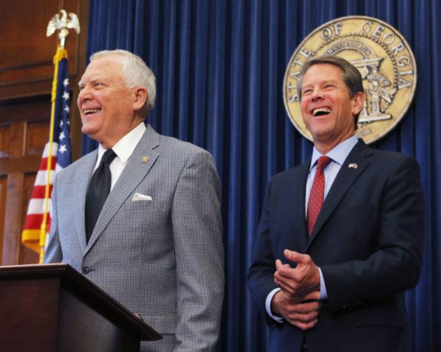 Kemp: I'm Georgia's next governor. Democrats: Prove it