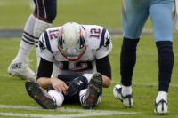 The Latest: Patriots sit Brady while trailing Titans