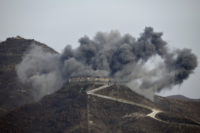 South Korea dismantles guard posts with dynamite, excavators