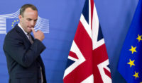 EU divorce deal in peril after two UK Cabinet ministers quit