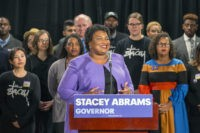 The Latest: Kemp congratulates Abrams, says he's moving on