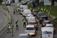 1 dead, dozens injured in fuel tax protests around France