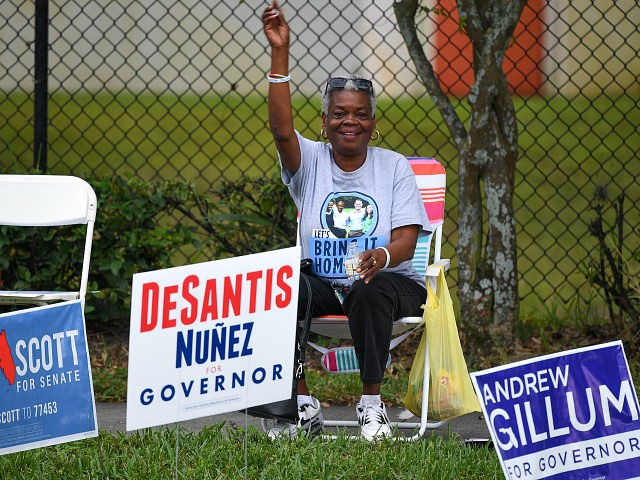 Orlando Florida. U.S. Sen. Bill Nelson, who was campaigning in the area and outgoing Republican Florida Gov. Ric