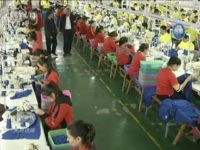 Chinese Internment Camp Factory Sends Sportswear to US