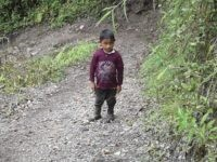 This undated photo provided by Catarina Gomez on Thursday, Dec. 27, 2018, shows her half-brother Felipe Gomez Alonzo, 7, near Laguna Brava in Yalambojoch, Guatemala. Felipe died in U.S. custody at a New Mexico hospital on Christmas Eve after suffering a cough, vomiting and fever, authorities said. He was 8-years-old. …