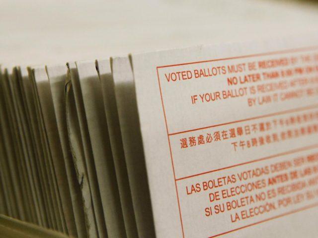 Absentee ballots (Justin Sullivan / Getty)