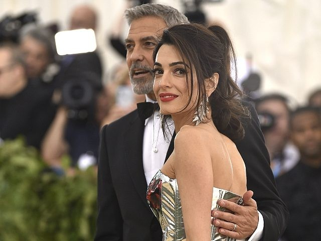 Amal Clooney hits out at Trump in speech at the UN